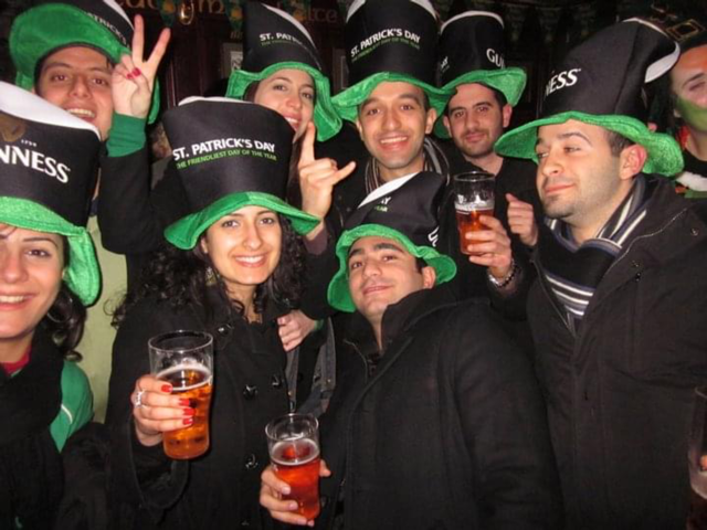 St Patrick's Day Memories with Jinty McGuinty's
