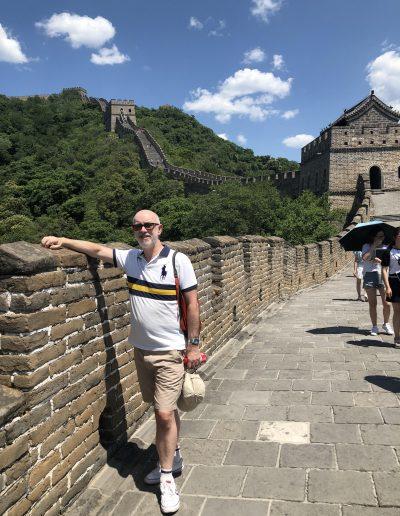 Paul - Great wall of China