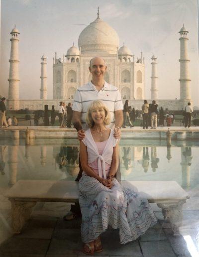 Paul - Taj mahal India
